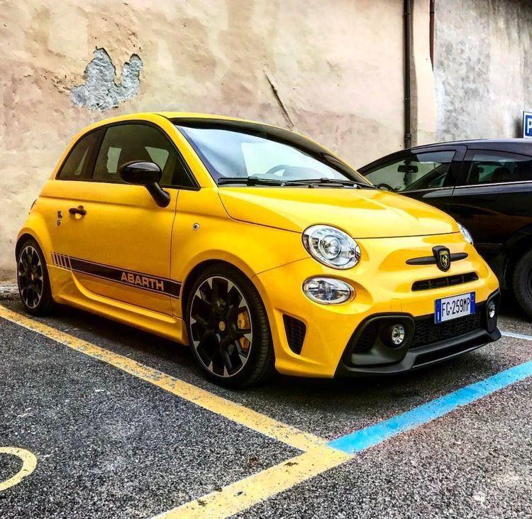 2017 Abarth 595 Color Modena Yellow Interior Hd Fiat Fiat