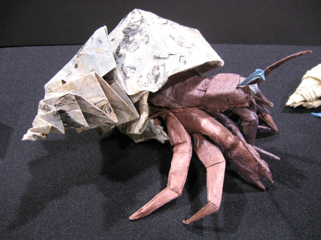 How to Make an Origami Crab Step by Step Instructions | Free ... | 768x1024