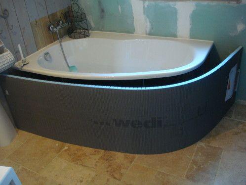 wedi en 2019 tablier de baignoire corner bathtub bathtub et bathroom. Black Bedroom Furniture Sets. Home Design Ideas