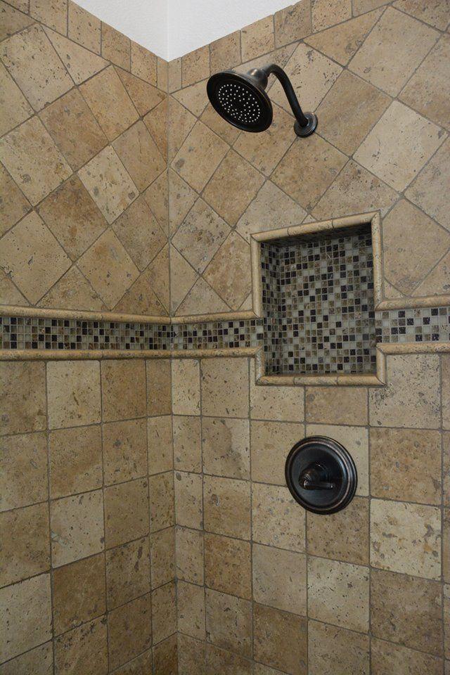 Diy Master Bathroom Travertine Shower Travertine Tiles Noce