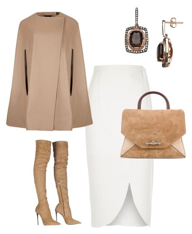 """Fall in New York"" by arta13 on Polyvore featuring Roberto Cavalli, Lord & Taylor, River Island, Ted Baker and Givenchy"