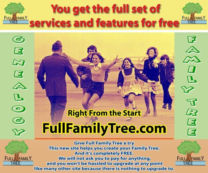 FamillyTree | FullFamilyTree com | Free family tree, Family