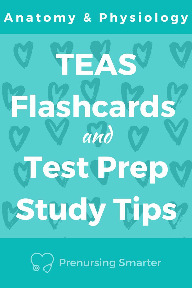 Anatomy & Physiology Flashcards + TEAS Prep Tips | TEAS Science Prep ...