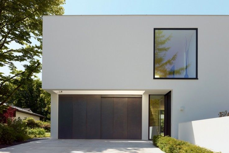 Raumcollage mit durchblick house and building pinterest for Minimalistisches haus grundriss