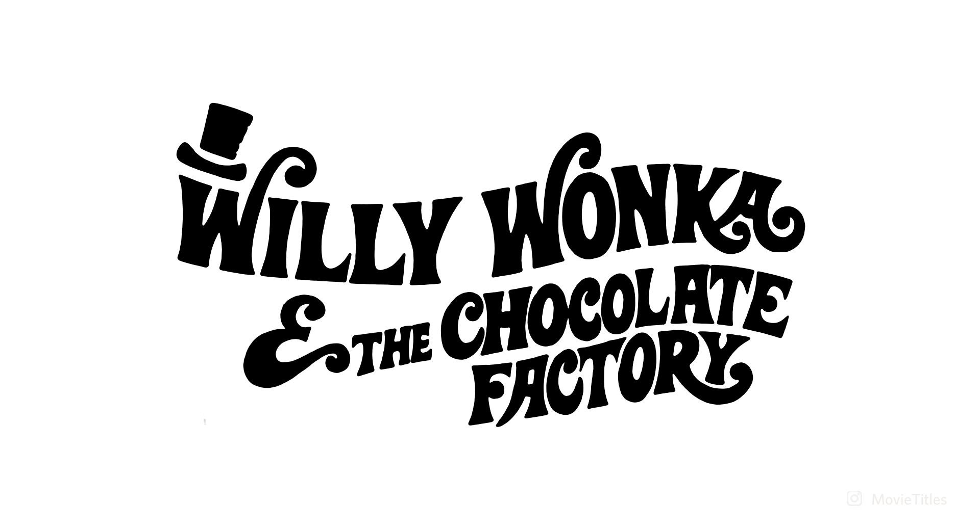 Willy Wonka Amp The Chocolate Factory Movie Title