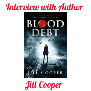 Do you enjoy author interviews? I had the privilege today of interviewing Jill Cooper.