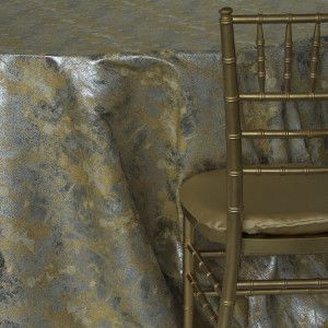 Gold Metallic Forest 2 by nuage designs / MM