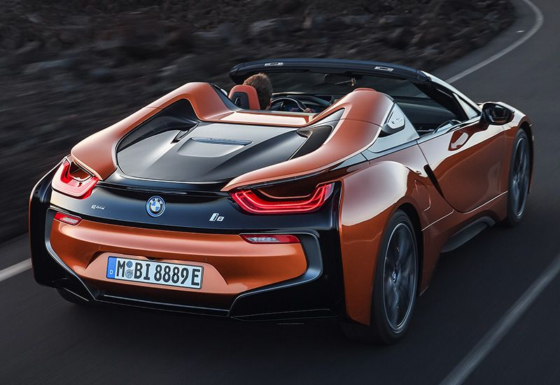 2019 BMW i8 Roadster specifications, photo, price
