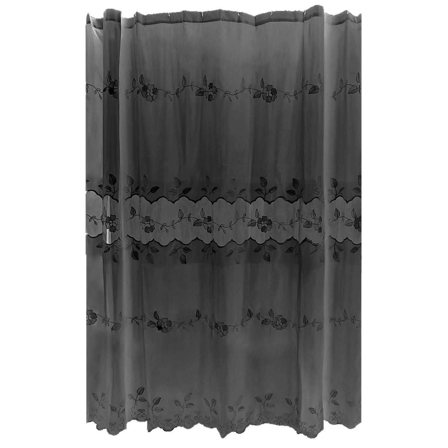 Best inexpensive victorian shower curtain with valance