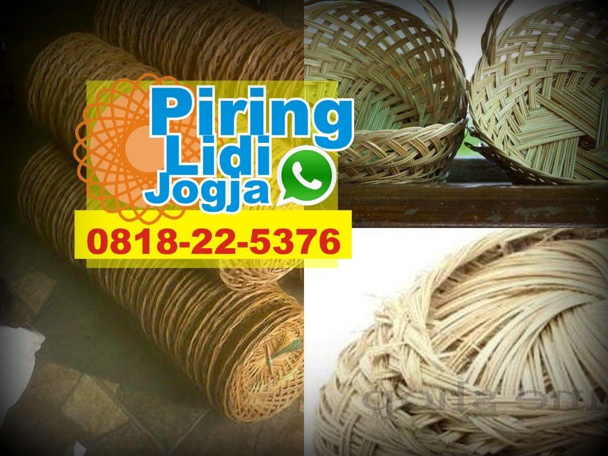 Piring Lidi Bali Toko Pincuk Bambu Model Piring Rotan Toko