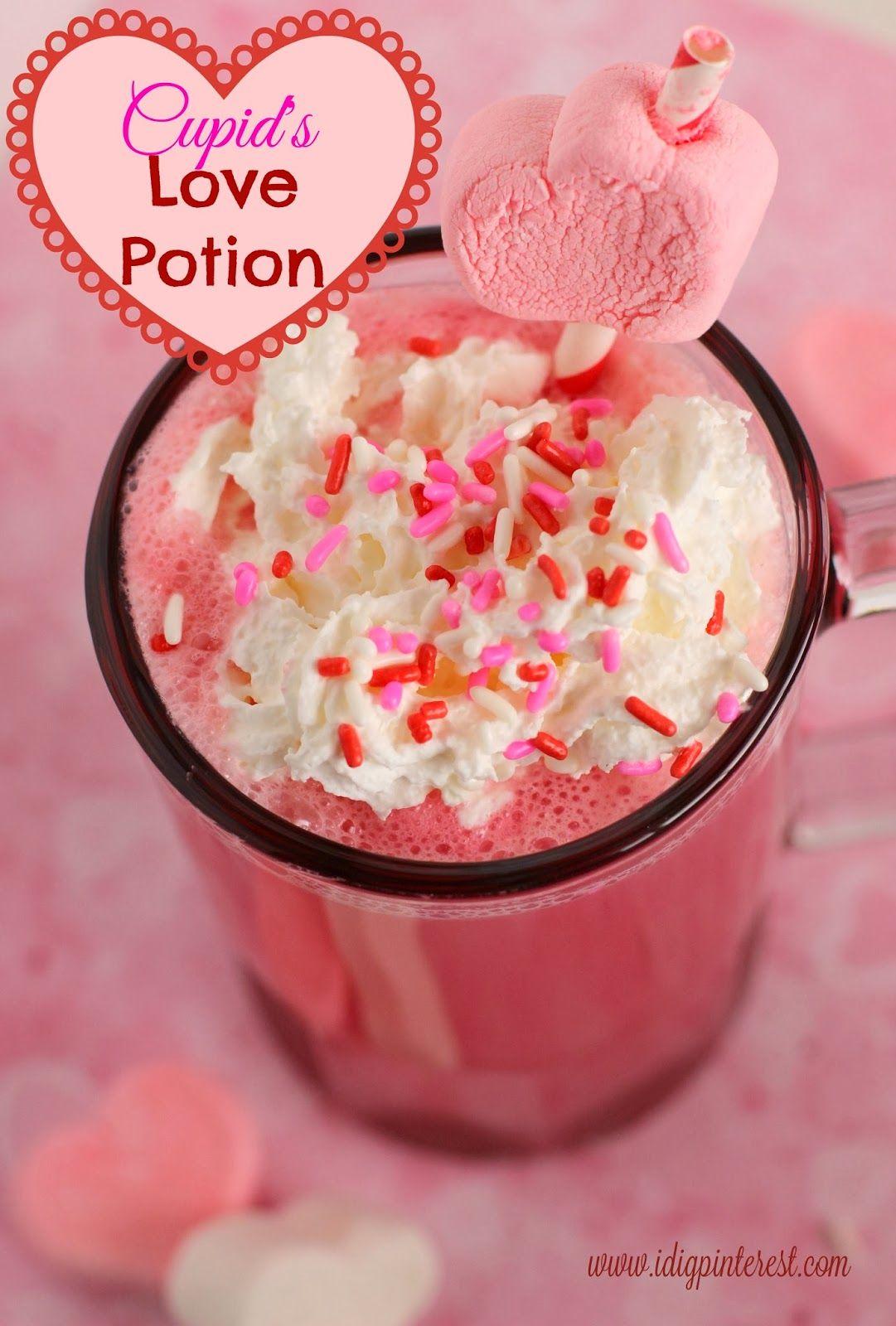 Cupid S Love Potion Valentine Drink I Dig Pinterest