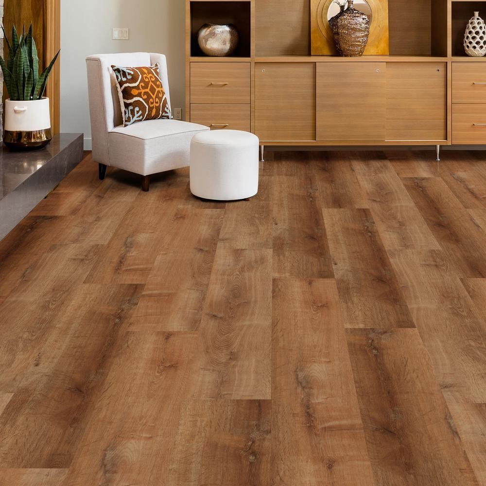 Vinyl floor Living Room LifeProof Take Home Sample Trail
