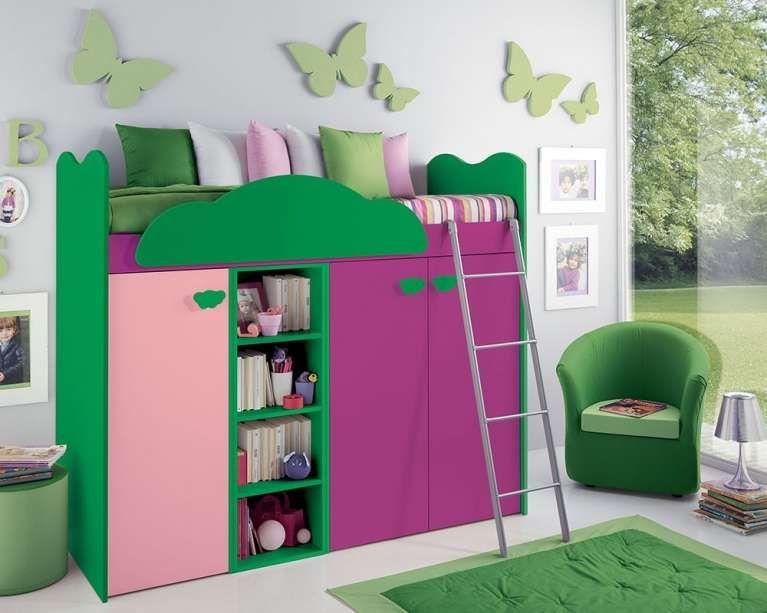 Camerette bambini salvaspazio | Idee per la casa | Modern kids ...