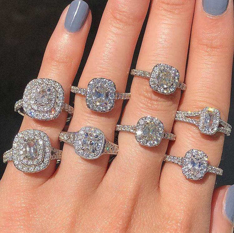 16 Stunning Diamond Engagement Rings For Under 5k Expensive Wedding Rings Big Engagement Rings Diamond Engagement Rings