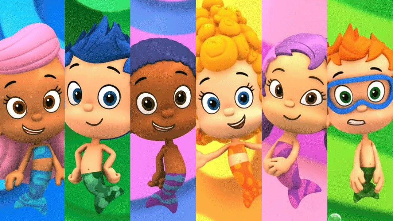 Pin By Dulce On Otros Baby Bubble Cartoon Kids Bubble Guppies