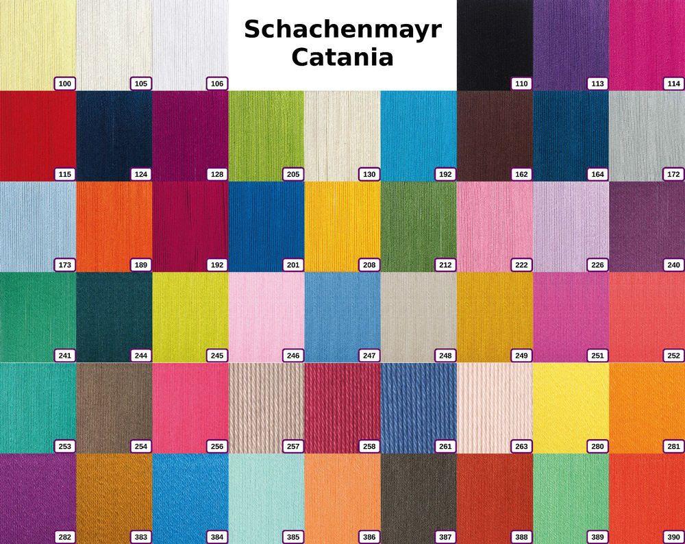 100 Pics Farben.Schachenmayr Catania 50 G 100 Baumwolle Alle Farben Art