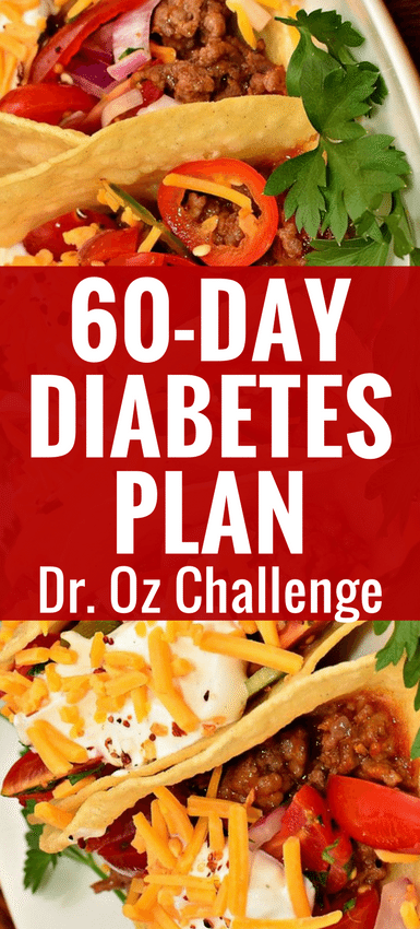 Love the Dr  Oz's 60-Day Diabetes Challenge Plan's Recipes
