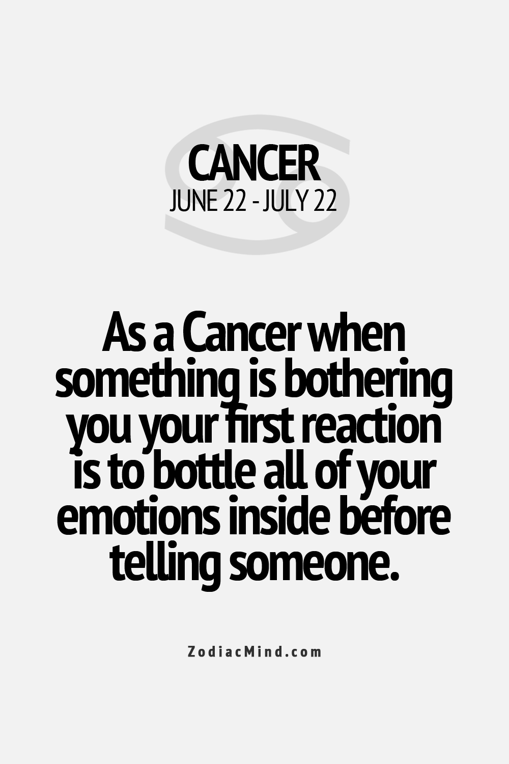 Pin By Lyn On Cancer Sign Things In 2020 Cancer Zodiac Facts Zodiac Signs Cancer Cancer Zodiac