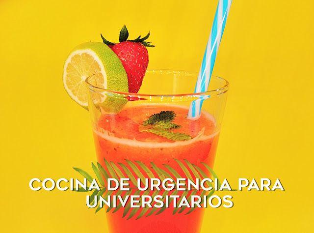Cocina Para Universitarios | 64 Limonada De Fresas Hierbabuena Cocina De Urgencia Para