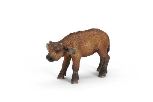 Schleich 14641 - Figura/ miniatura Búfalo ternero: Amazon.es ...