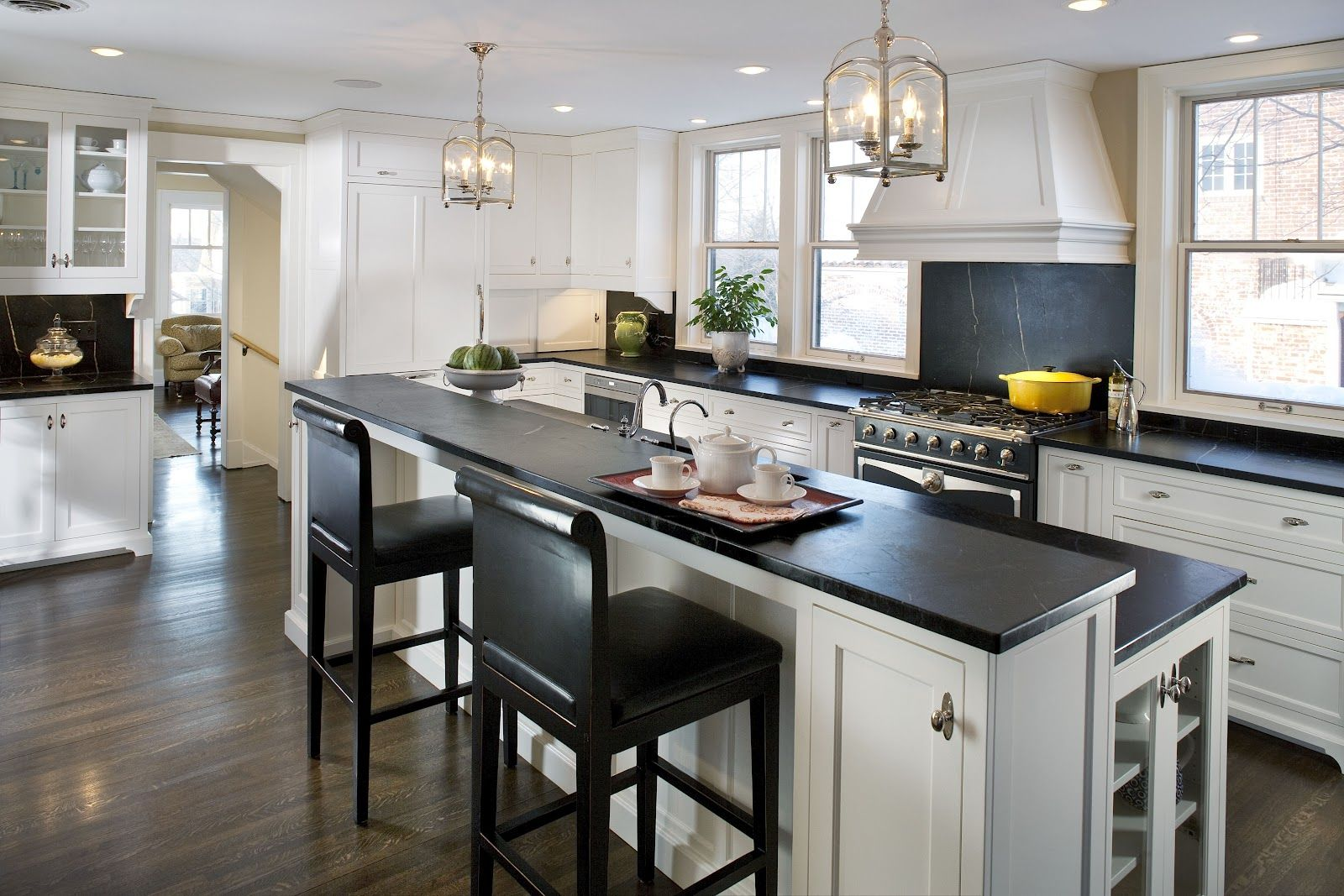 The Quick 411 On Soapstone Countertops Kitchen Design Kitchen Remodel Modern Kitchen