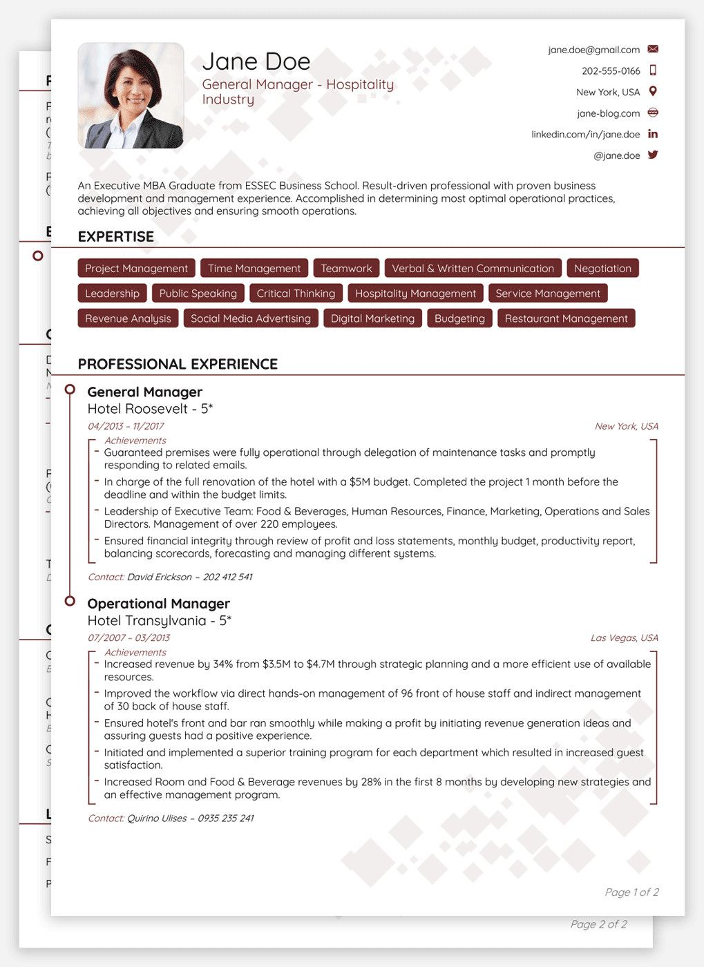 28 Cv format Download in 2020 Resume template
