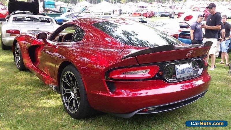 2014 Dodge Viper Gts Dodge Viper Forsale Canada Dodge Viper Dodge Viper Gts Viper Gts