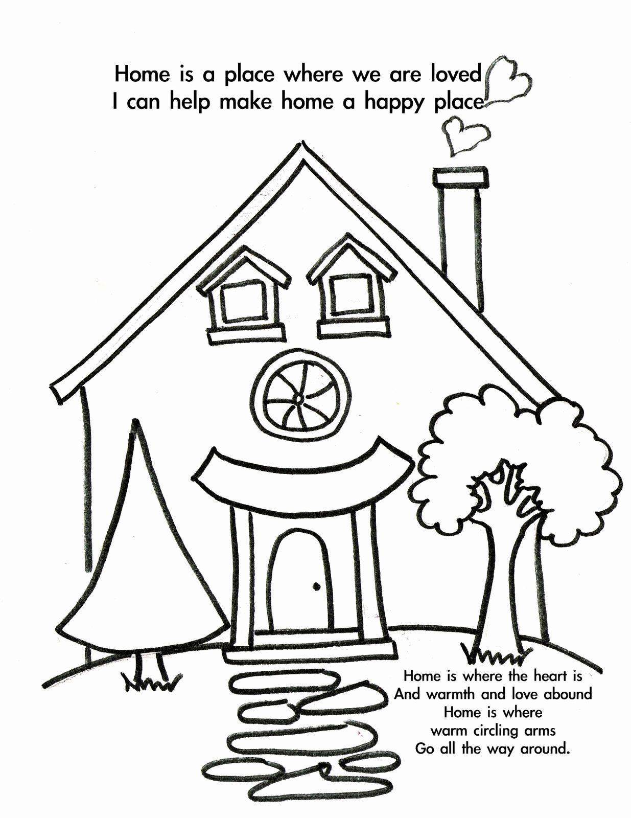 Welcome Home Coloring Page Inspirational Free Wel E Home Coloring Pages Coloring H Coloring Pages For Kids Coloring Pages Inspirational Detailed Coloring Pages
