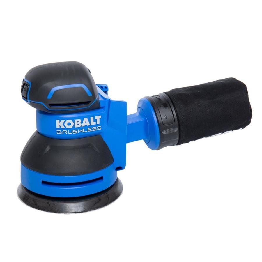 Kobalt Brushless 24 Volt Brushless Cordless Random Orbital Sander Lowes Com In 2020 Cordless Circular Saw Electronic Speed Control Circular Saw