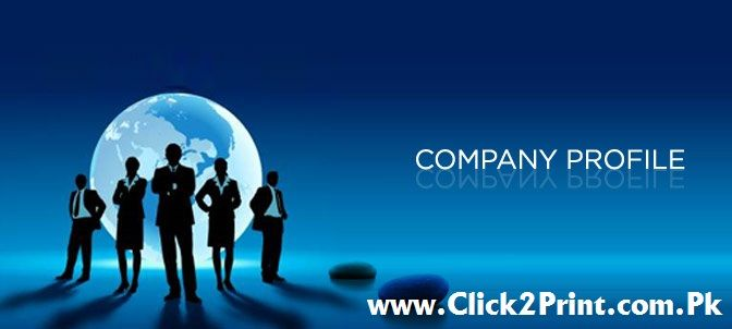 Company Profile Design and Print Services Brochure designing and