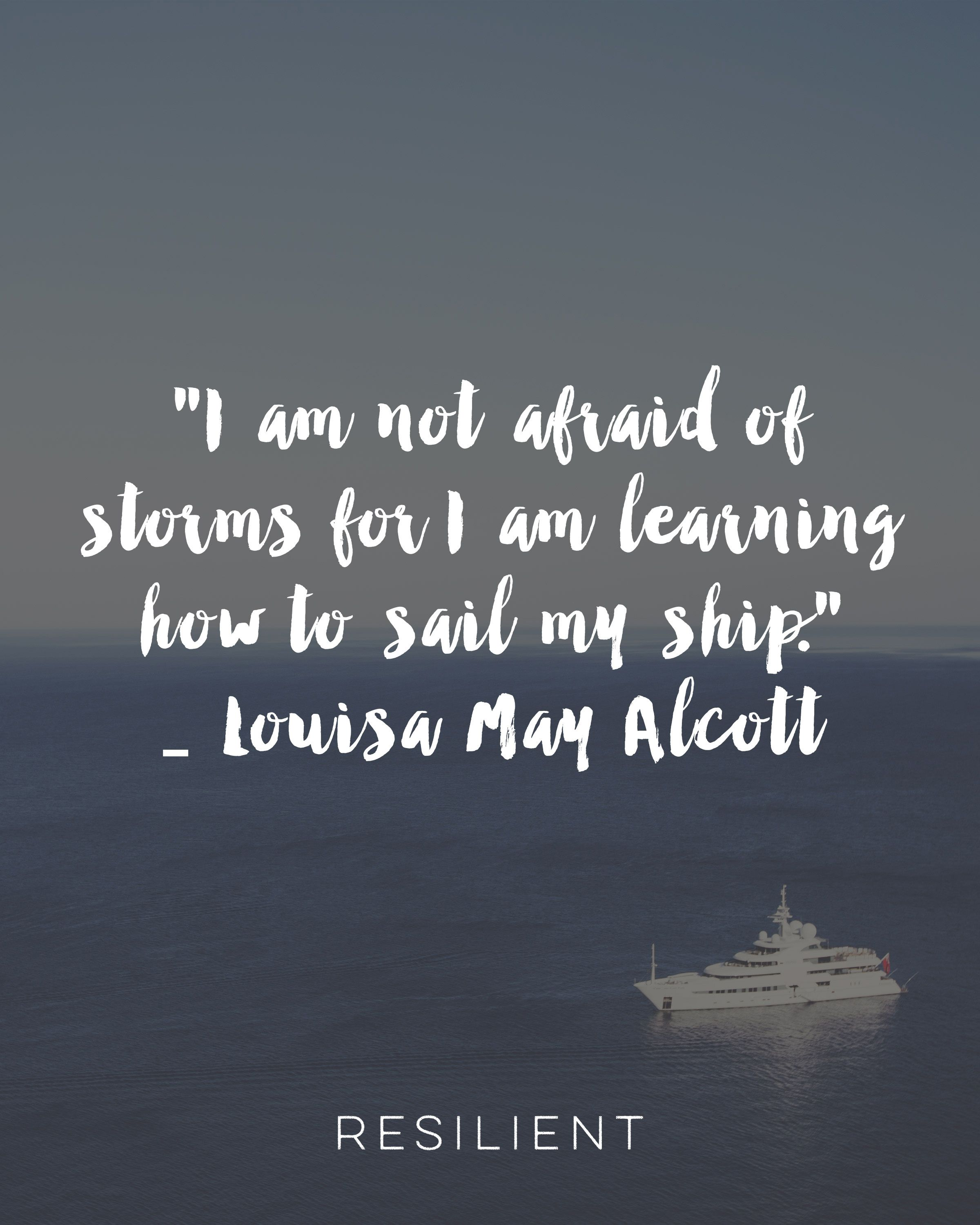 "May Quotes For Inspiration: Inspirational Printable- ""Learning How To Sail My Ship"" By"