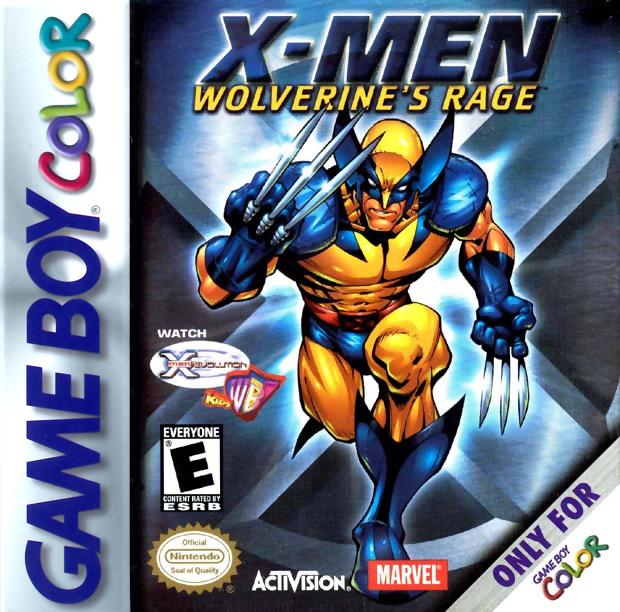 X-Men-Wolverine\'s Rage Nintendo Game Boy Color | Nintendo Game Boy ...