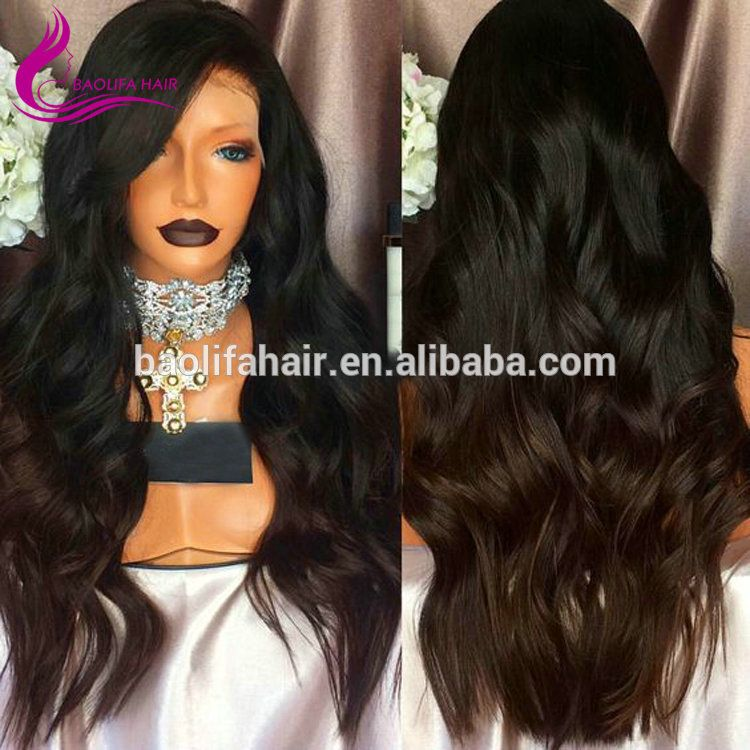 Wholesale cheap human hair full lace wigs with baby hair eca640bd8