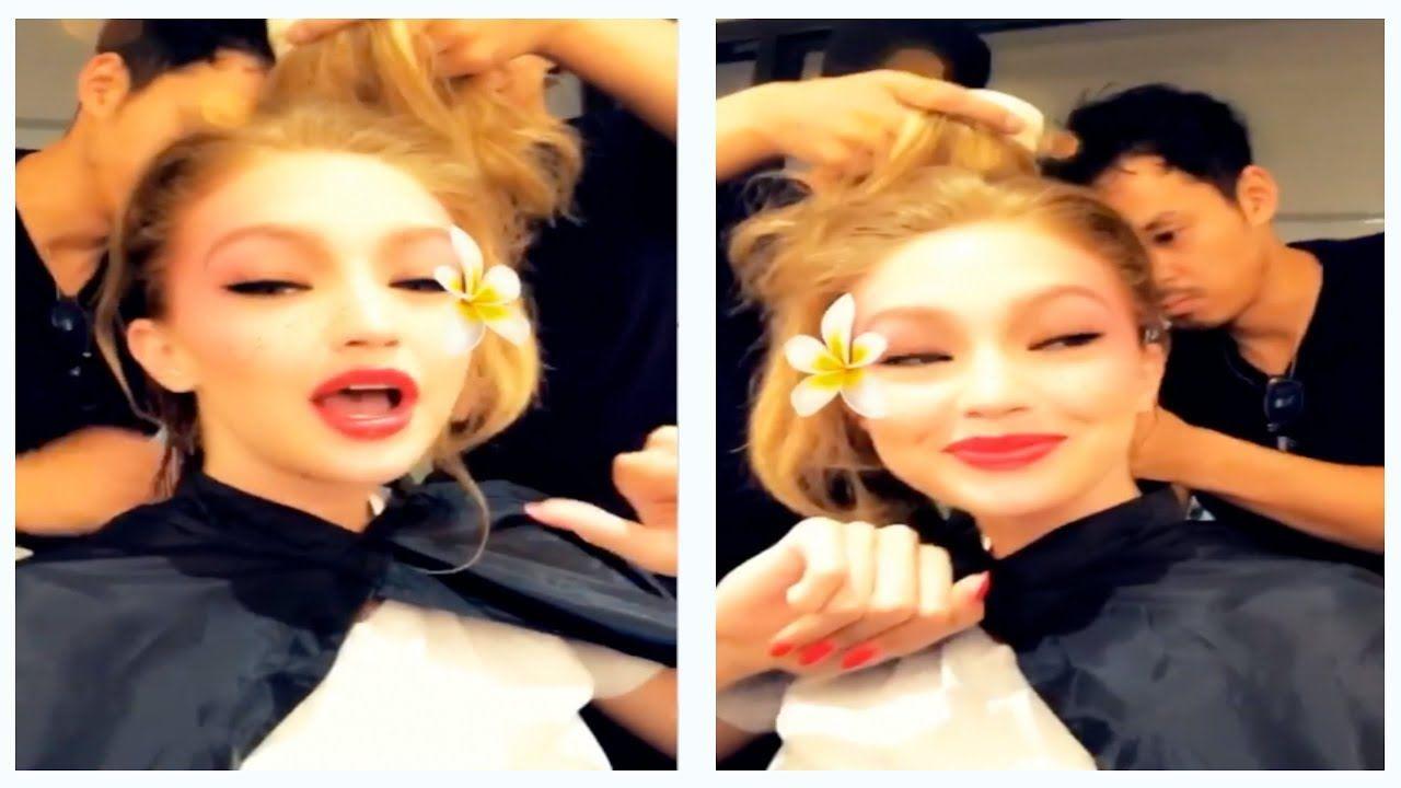 Bella Hadid Newest Snapchat Video Ft Anwar Hadid,Kendall