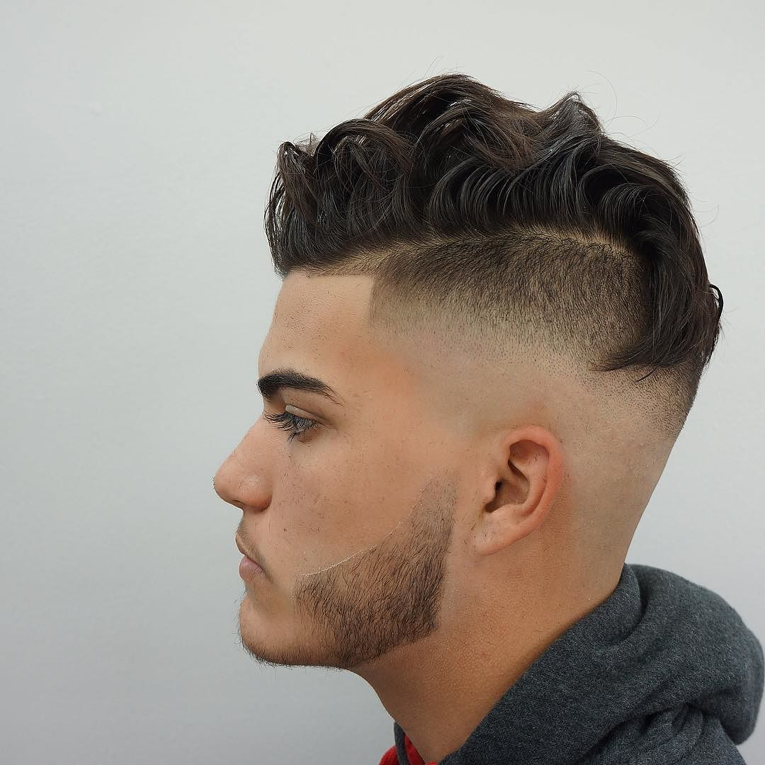 nice 10 best shaved sides hairstyles for men 2016 | men's