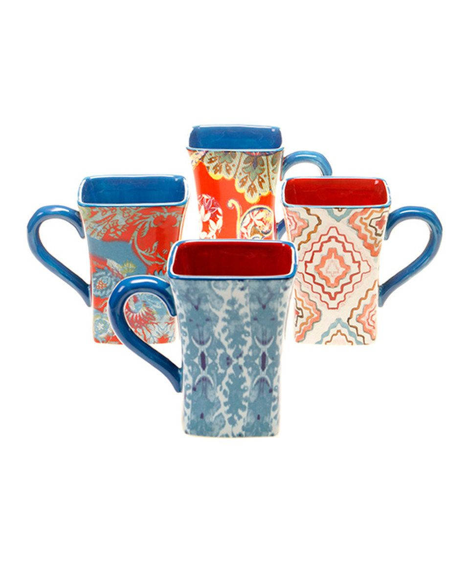 Take a look at this French Meadow Mug - Set of Four today!