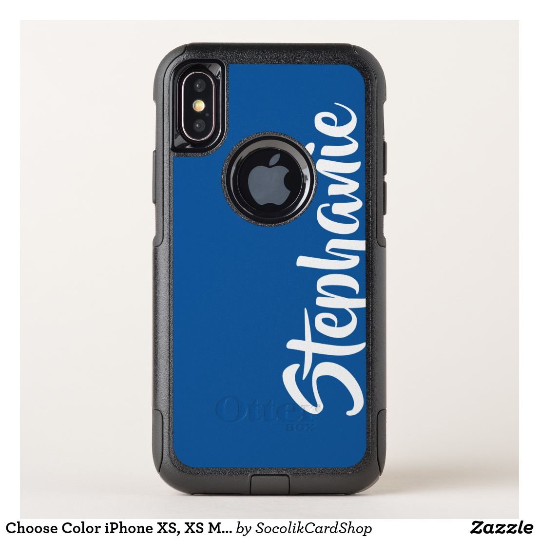 Choose color iphone xs xs max xr otterbox custom