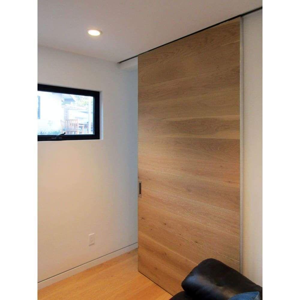 Ceiling Flush Mount Sliding Pocket Door Hardware Kit In 2020 Sliding Door Room Dividers Sliding Pocket Doors Pocket Door Hardware