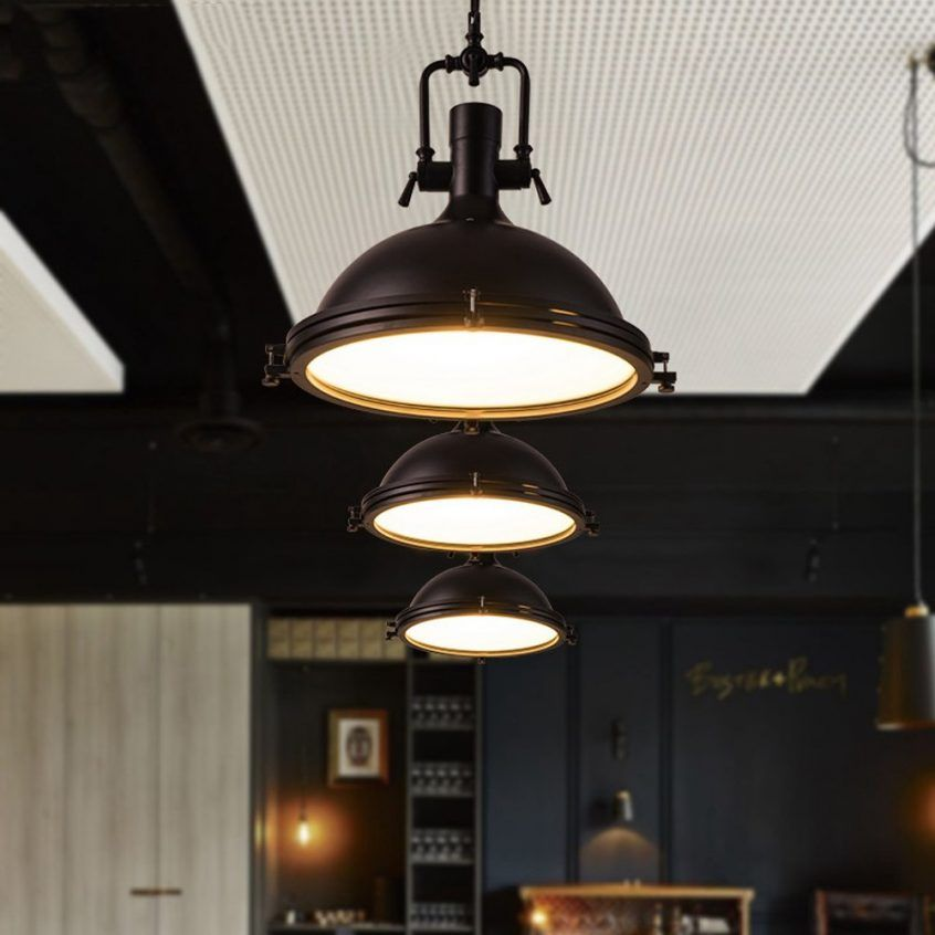 Architecture Top 54 Nifty Pendant Steel Lights Industrial Style