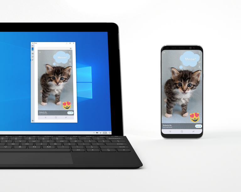 You can soon mirror your Android screen to your Windows 10