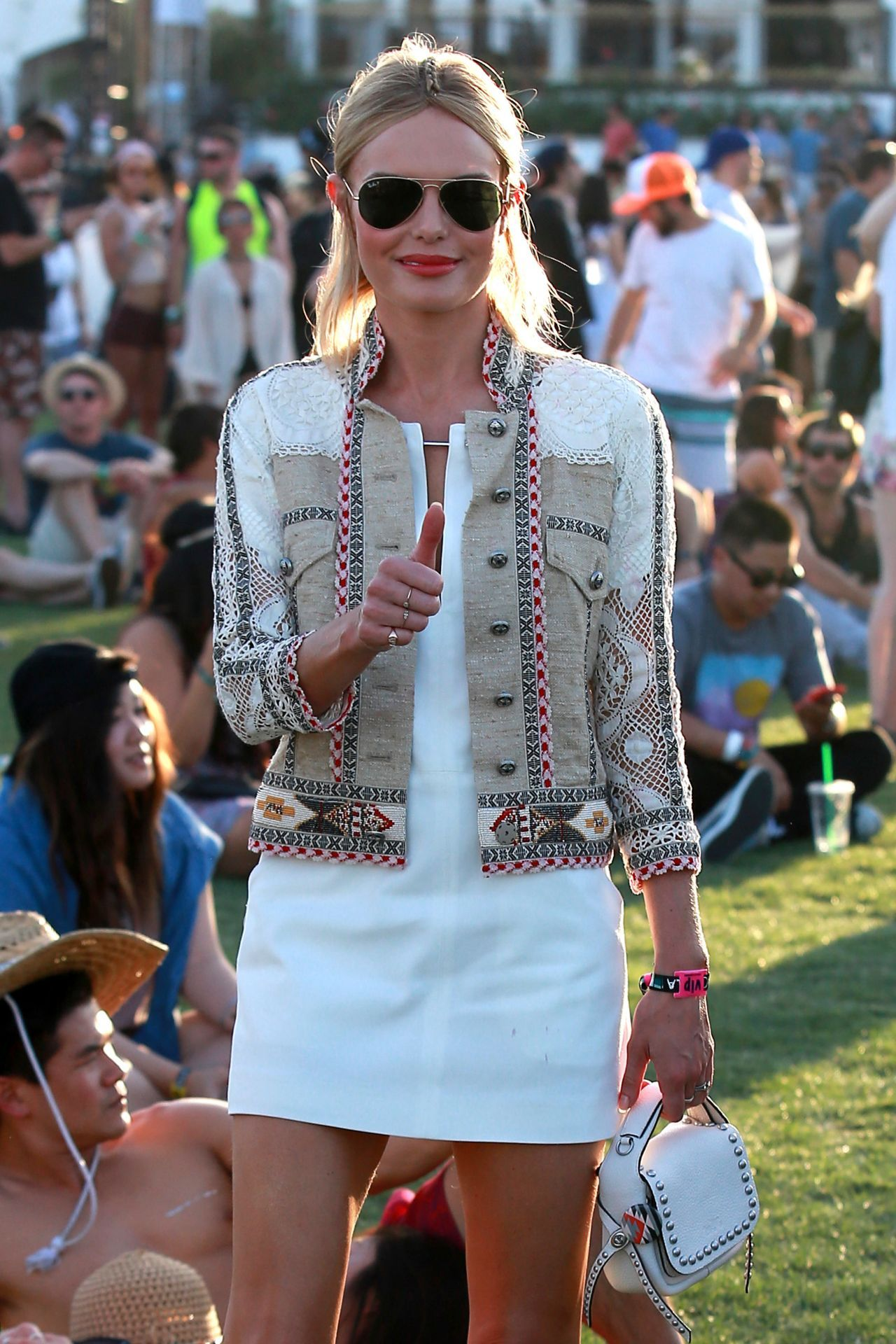 This week our holiday type is Festival! Whether it's Glastonbury, Secret Garden Party, Bestival or another of the many festivals this summer, make a statement and embrace the colours with bright and electric eyewear. Kate Bosworth - 2015 Celebrity Photos -  a Coachella Music Festival Day 2 Empire Polo Grounds Indio #celebrityphotos