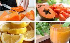 Graças a suas propriedades desintoxicantes e seu teor de fibras e vitamina C, a batida de mamão papaia e limão é ótima para limpar o estômago. Experimente!