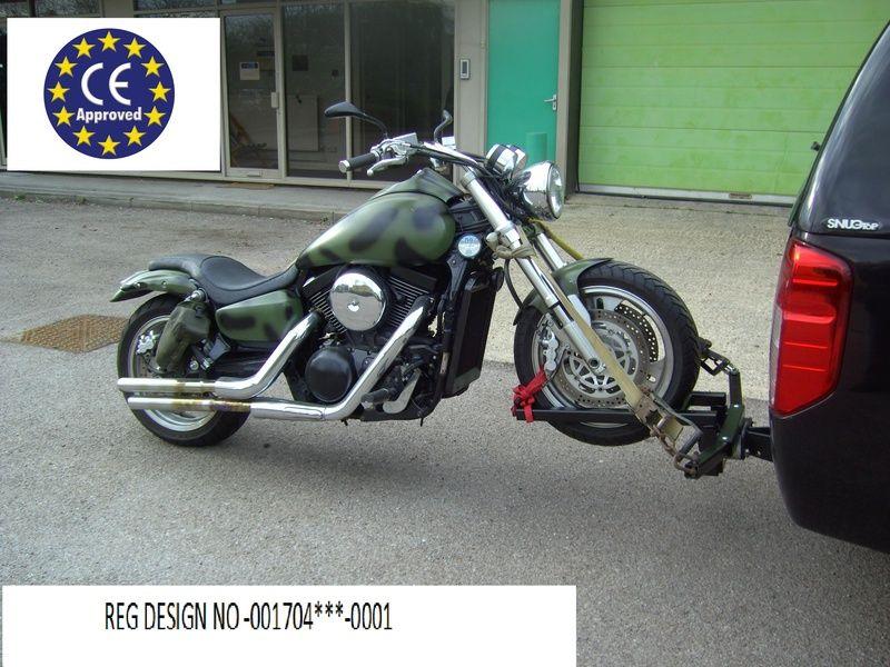 Remolque sencillo para moto | Motocicletas | Pinterest | Sencillo ...