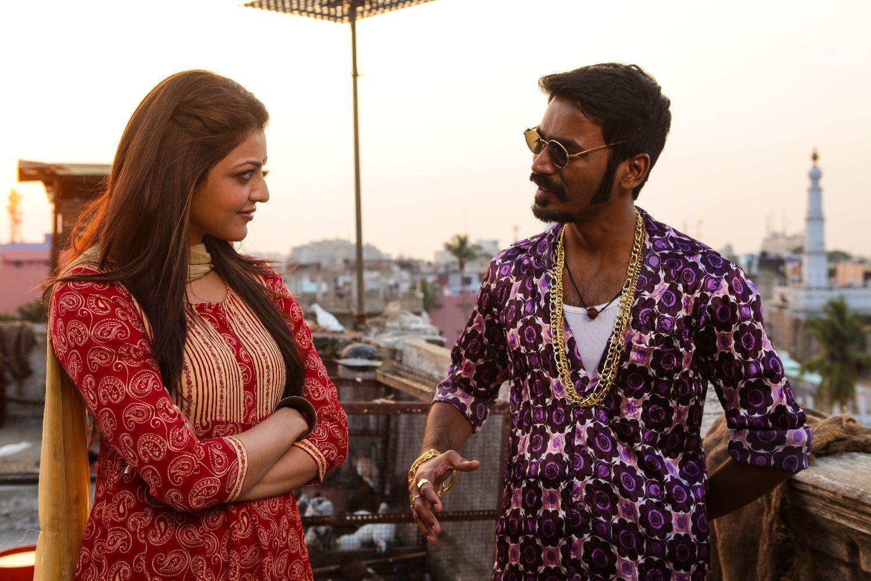Maari Movie Latest Stills Dhanush Kajal Aggarwal Movies Celebrity Style Movie Stars