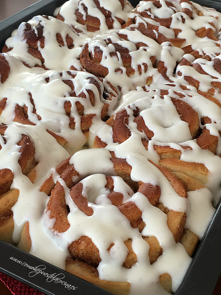 Cinnamon Rolls Thermomix Postres Thermomix Recetas
