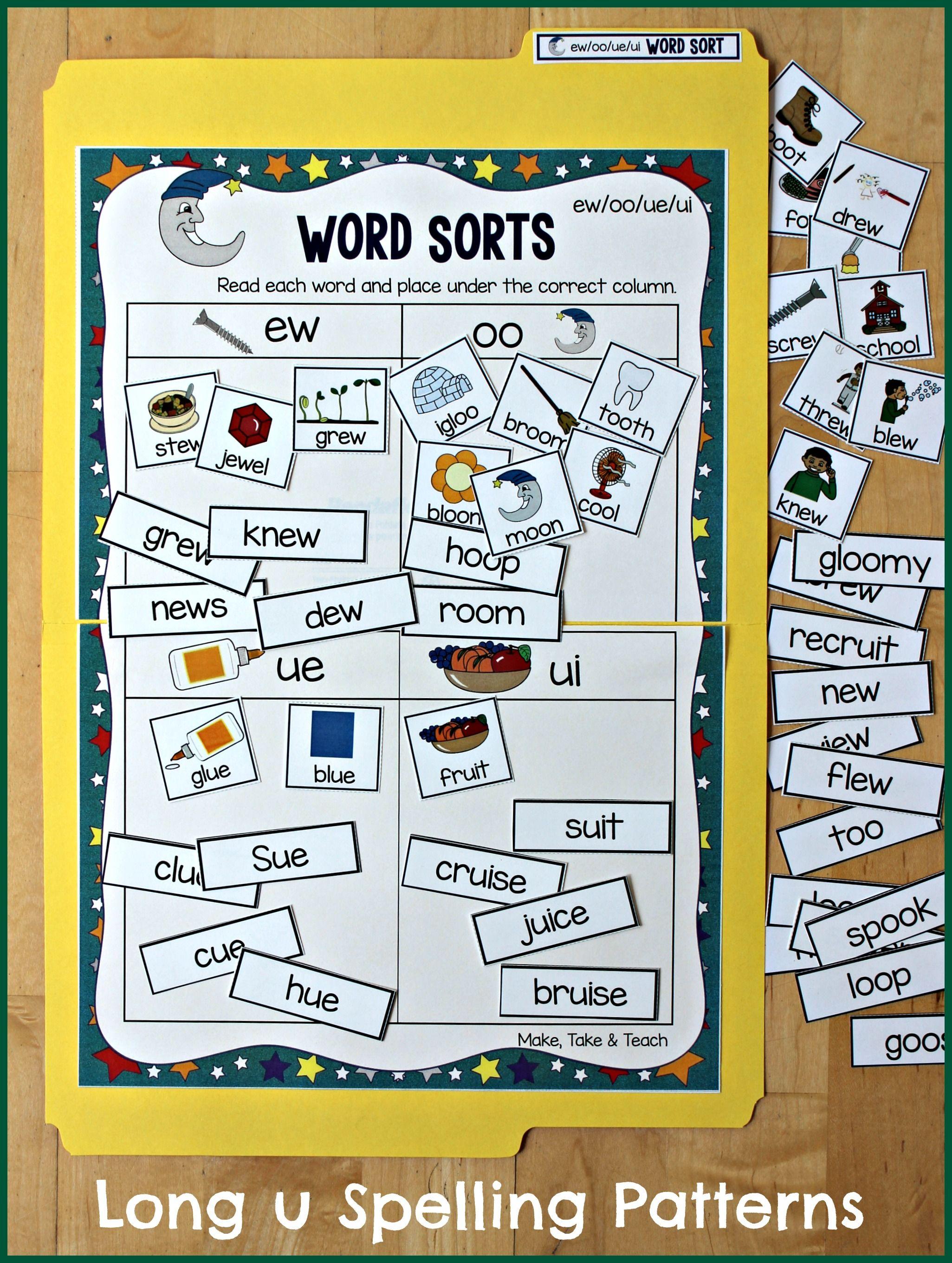 Teaching Long Vowel Spelling Patterns