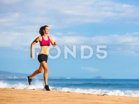 Fitness Woman Running Stock Photos #AD ,#Woman#Fitness#Running#Photos