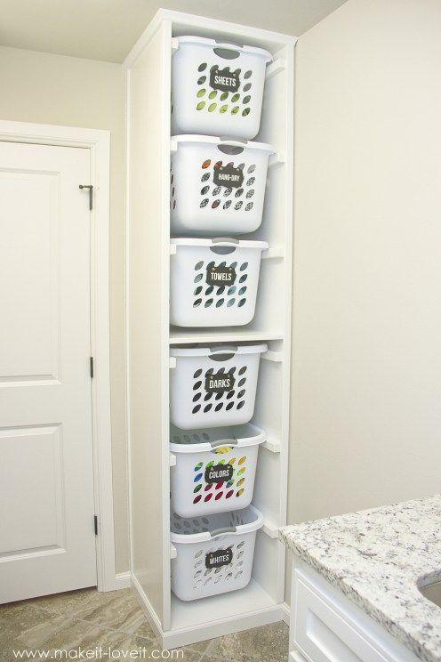 Photo of 9 DIY Wäscherei Organisation Ideen, die jeder saubere Mensch wissen sollte   EINER MACHT EINF…