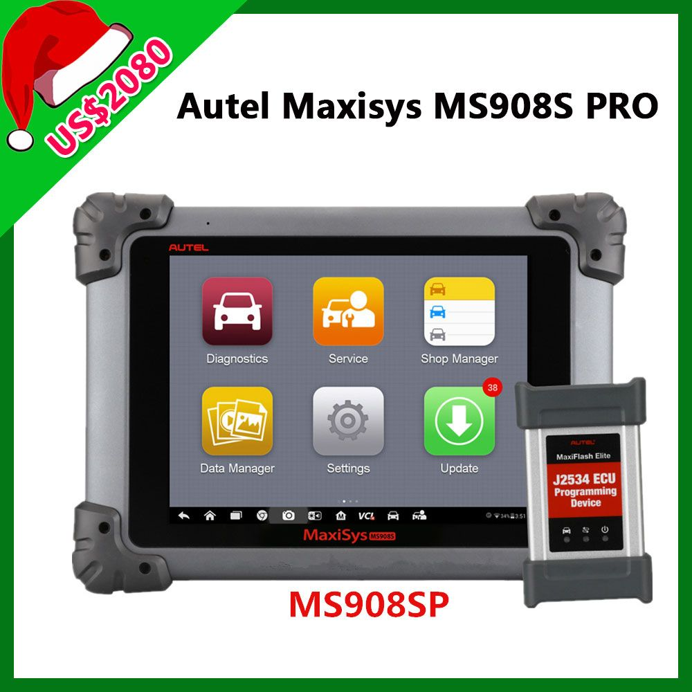 MS908SP is the MS908P update version  Autel MS908S Pro can