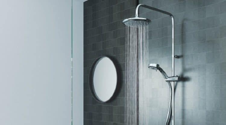 Rain Shower Head Vs Regular Shower Head Homeviable Rain Shower
